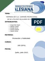 Proyecto Bic