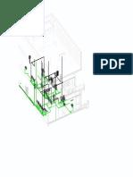 Vent Plumbing System Example - Isometric 2