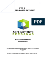 Tugas IFRS 2 - Share Based Payment