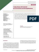 A Case of Von Hippel Lindau Disease With Colorectal