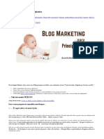 Blog Marketing Para Principiantes