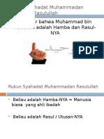 Makna Syahadat Muhammadan Rasulullullah