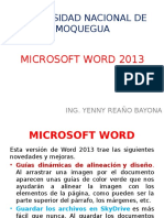 Microsoft Word 2013 - 1