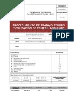 PTS-PR-03 - Utilización de Esmeril Angular