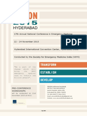 EMCON 2015 Brochure Aug2015 Scr | Emergency Medical Services