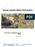 Ground Anchor inspector manual