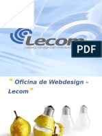 Oficina Web Design Lecom Php e Mysql
