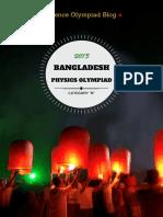 Bangladesh Physics Olympiad 2015 (Category B)