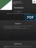 ppt Tonalidad