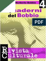Quaderni Del Bobbio Numero 4