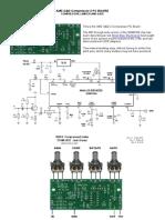 SSM2166- Compressor, Limiter and Gate