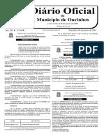LISTA DE CLASSIFICAÇÃO PARA PROFESSORES ADJUNTOS - DIÁRIO OFICIAL DO MUNICÍPIO DE OURINHOS