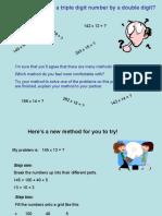 Multiplication Gridmethod