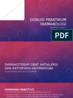 Diskusi praktikum farmakologi