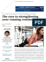 The Core to Strengthening Your Running Routine _ the Indian Express