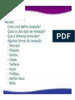 Bibliologia Suficiencia Das Escrituras Aula3_slides