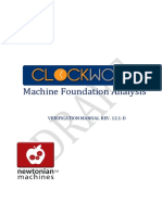 Clockwork Verification Manual