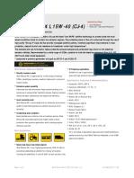 Shell Rimula R4 L 15W-40 CJ-4 (English)