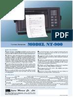 NT 900 Navtex