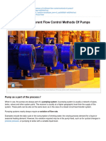 Electrical-Engineering-portal.com-Comparison of 4 Different Flow Control Methods of Pumps