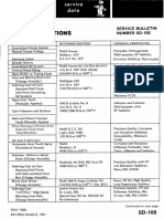 Service Bulletin SD-100 (Lubricant Recommendations)