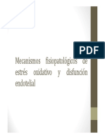 Estress Oxidativo y Disfuncion Endotelial