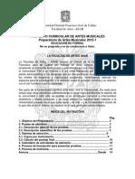 Instructivo Admisiones 2015 1 Musica PreparatorioA