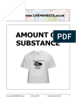 Chemsheets as 1027 (Amount of Substance)