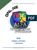 Alfacon Tecnico Do Inss Fcc Raciocinio Logico Matematico Daniel Lustosa 1o Enc 20131008000259
