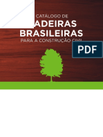 Catalogo de Madeiras Brasileiras Para a Construcao Civil