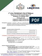 PROGRAMMA 2° GranMediofondo Città di Belpasso - TROFEO LA FENICE