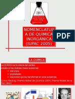 FORMULACIÓN QUÍMICA INORGÁNICA