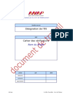 ANAP H12 Modele Cahier Verifications