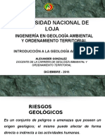 CALCULO CUANTITATIVO de riesgo geologico