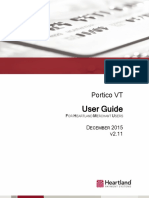 Portico Virtual Terminal Merchant User Manual