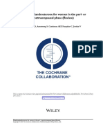 Dehydroepiandrosterone for Women in the Peri- Or 2015