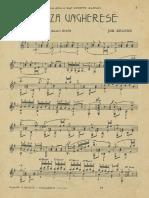 Brahms Danza Ungherese n5