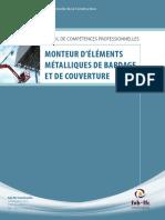 PCP Monteur Elements Metalliques Bardage Et Couverture