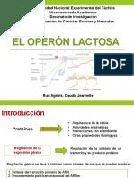 El Operón Lactosa
