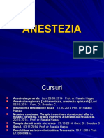 Anestezia I Curs an VI 29.09.2014