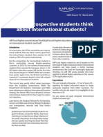 What Do Prospective Students Think About International Students
