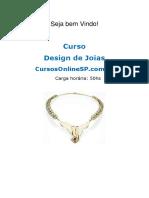 Curso Design de Joias Sp 27241