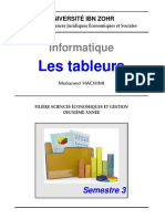Cours2013s3 Excel