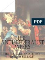 Anti Federalist Papers, The Special Edition