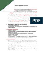 Capitulo 3- Capacidades Estrategicas