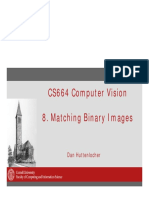 Cs664 8 Binary Matching