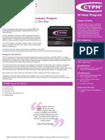 Certified Telecommunications Project Management CTPM