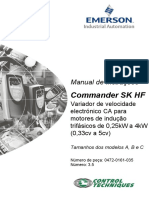 Manual Commander SK Português