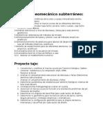 Proyecto Geomecánicos