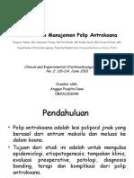 Evaluasi Dan Manajemen Polip Antrokoana
